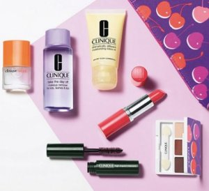 7-pc Free Gifts(Value $70)with Clinique Purchase over $28 @ Bon-Ton