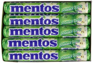 Mentos Rolls, Green Apple, 1.32 Ounce (Pack of 15)