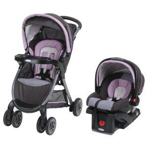 Graco FastAction 推车+SnugRide Click Connect 30婴儿座椅