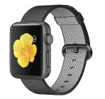 $199 Apple Watch Sport 38mm Space Gray Aluminum Case Black Woven Nylon Band