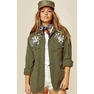 Good Fuckin' Vibes gi jane shirt jacket