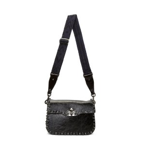 Women's Shoulder Bags - Bags | Discover Now LN-CC - Medium Guitar Rockstud Rolling Crossbody Bag