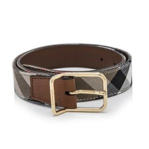 Burberry House Check Belt