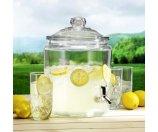 Anchor Hocking 2 gal. Heritage Hill Glass Jar w/ Plastic Spigot - Tent Sale - Sale