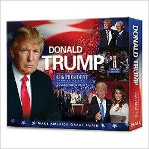 Donald Trump: 45th President of the United States Collector's Vault: Brandon Christopher Hall