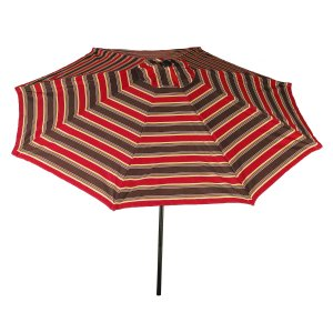 Bliss Hammocks 9' Market Umbrella with Aluminum Frame, Crank and Tilt