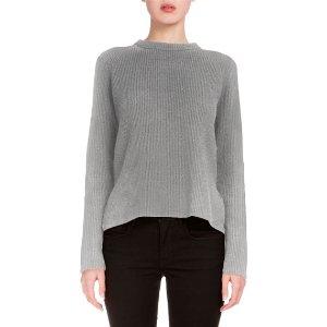Proenza Schouler Long-Sleeve Side-Tie Sweater