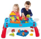 $29.02(原价$44.99) 限Prime用户!Mega Bloks First Builders 儿童积木桌套装