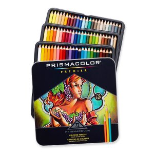 Prismacolor Premier Soft Core Colored Pencil, Set of 72 Colors