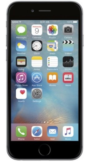 $249.99Apple iPhone 6 64GB - Space Gray (Sprint)
