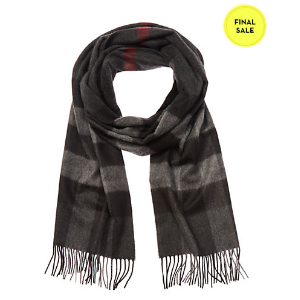 Burberry Giant Exploded Check Cashmere Scarf
