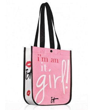 Free IT Girl Tote Bagwith Any Purchase @ IT cosmetics