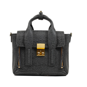 3.1 Phillip Lim Pashli Mini Satchel Ash/Charcoal | Blue&Cream