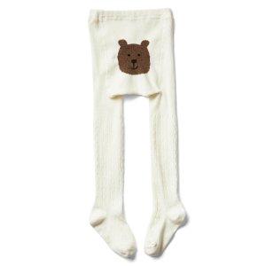 Cable knit bear tights | Gap
