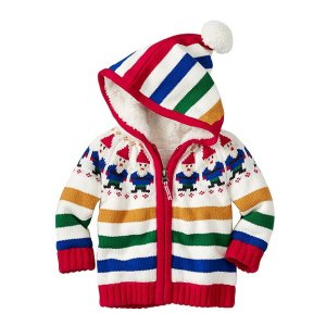 Baby Sherpa Lined Gnome Sweater   Baby Sweaters
