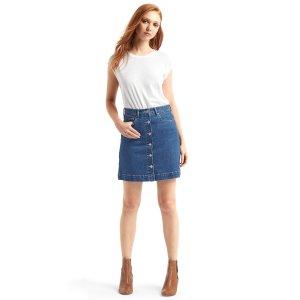 1969 denim mini skirt | Gap