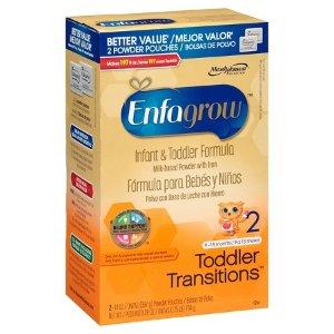 Enfagrow Toddler Transitions Powder Formula Value Box - 28oz : Target
