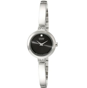 Lowest price! $104.62Citizen Eco-Drive Women's EW9920-50E Stainless Steel Swarovski Crystal-Accented Watch
