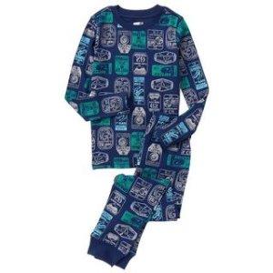 Ticket Stub 2-Piece Pajama Set at Crazy 8