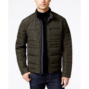 MICHAEL Michael Kors Big & Tall Moto Down Jacket - Coats & Jackets - Men - Macy's