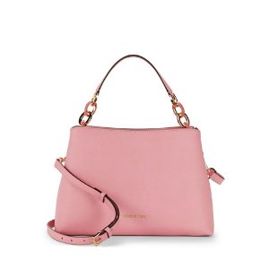 Portia Large East West Saffiano Leather Shoulder Bag | Lord & Taylor