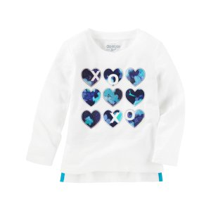Toddler Girl XOXO Tee | OshKosh.com