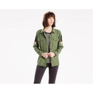 Military Shirt Jacket | Bronze Green |Levi's® United States (US)