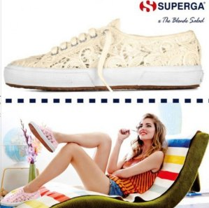 $53.99 Superga Cotmacramew On Sale @ 6PM.com