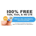 Mobile Phone Service w/ Global 3-in-1 SIM Kit + Free 1GB Bonus @ FreedomPop