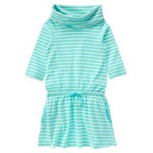 Stripe Turtleneck Dress at Crazy 8