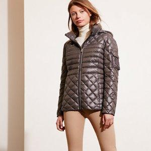 Packable Quilted Down Coat - Coats � Coats & Trenches - RalphLauren.com