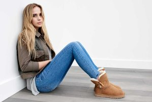 UGG Keely Sheepskin Toggle Boots