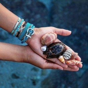 Silver Infinity Black | Pura Vida Bracelets