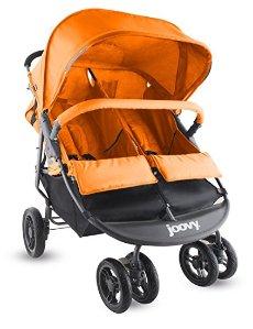 Joovy Scooter X2 Double Stroller, Orange