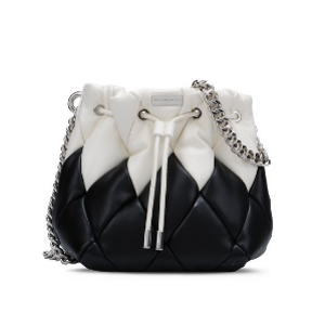 Black Falabella Quilted Bucket Bag - Stella Mccartney