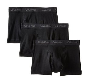 Calvin Klein Men's 3-Pack Cotton-Stretch Low-Rise Boxer Briefs