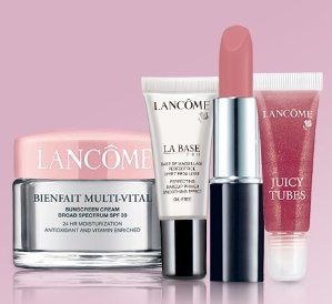 Free 4-pc Gift Set + Free shippingwith Orders over $49 @ Lancome