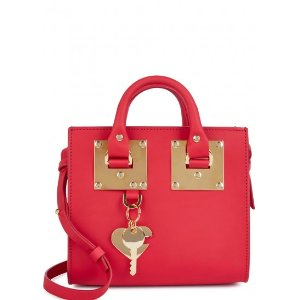 SOPHIE HULME Albion red leather box bag