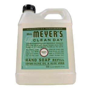 Mrs. Meyer's Clean Day Liquid Hand Soap Refill, Basil, 33 Fl Oz | Jet.com