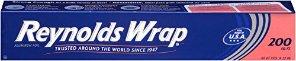 $6.11 + Free Shipping Reynolds Wrap Aluminum Foil, 200 Sq Ft