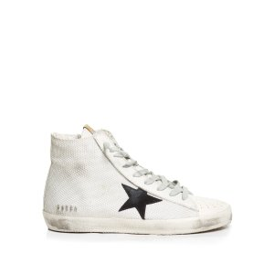 Francy high-top cord and leather trainers | Golden Goose Deluxe Brand
