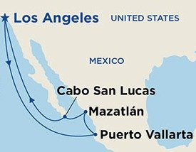 $549+ 7 Nts Ruby Princess: Puerto Vallarta, Mazaltan, Cabo @ BookingBuddy