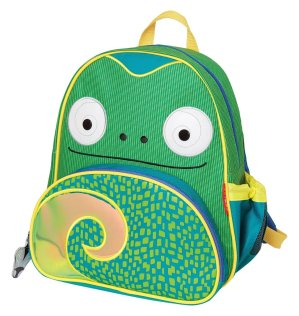 Skip Hop Zoo Little Kid & Toddler Backpack (Ages 2+), Cody Chameleon