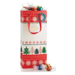 Create Your Own Snowflake and Trees LINDOR Truffles 75-pc Gift Bag