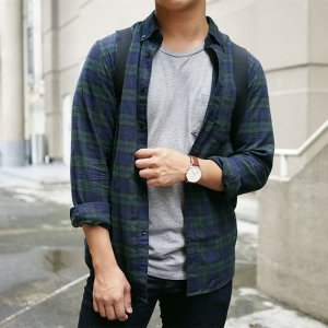 $19.90 Men's Flannel Shirts on Sale @ Uniqlo