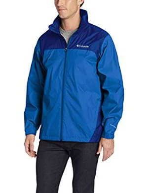 From $25.76 Columbia Men's Glennaker Lake Front-Zip Rain Jacket with Hideaway Hood