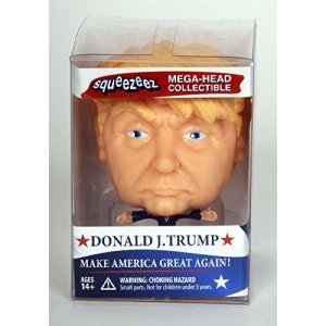 Donald J. Trump Squeezeez: Mega Head Collectible, Make America Great Again: Toys & Games