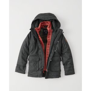 boys heritage twofer parka | boys clearance | Abercrombie.com