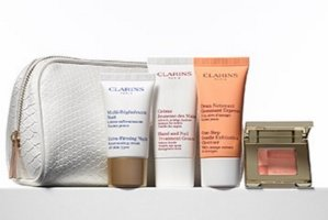 5pcs Clarins Gift ($54 Value) with Any $75 Clarins Purchase @ Nordstrom
