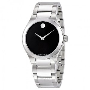 Movado Defio Black Dial Stainless Steel Men's Watch 0606333 - Movado - Watches - Jomashop
